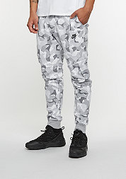 Trainingshose Tech Fleece Jogger white/wolf grey/black