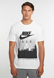 T-Shirt Air Rocket white/white/black