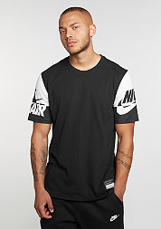 T-Shirt Air Sleeves black/white/black