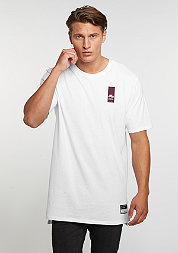 T-Shirt Air Brand Mark white/white/night maroon