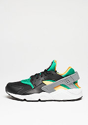 Air Huarache black/white/emerald