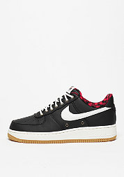Schuh Air Force 1 07 LV8 black/sail/action red