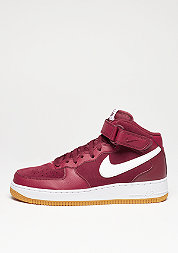 Schuh Air Force 1 Mid 07 team red/white/gum light brown