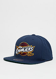 Snapback-Cap Wool Solid NBA Cleveland Cavaliers navy