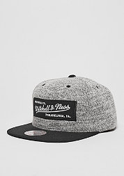 Snapback-Cap Grey Duster grey/black