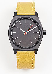 Time Teller all black/goldenrod