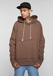 Hooded-Sweatshirt brown