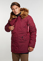 Winterjacke Explorer burgundy