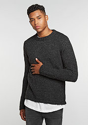 Sweatshirt Caught Knit charcoal melange