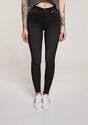 Jeans High Spray fuel black
