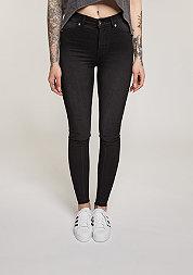 Jeans High Spray fuel black