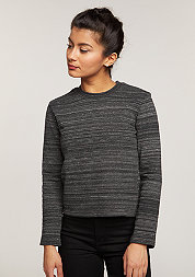 Sweatshirt Worn Sweat black spacedye