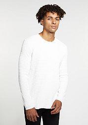 Sweatshirt Waffle white