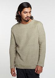 Sweatshirt Knitcrew Checked silver savage
