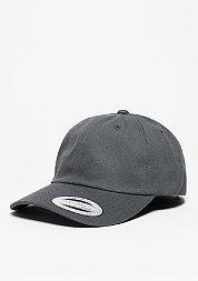 Baseball-Cap Low Profile Cotton Twill dark grey