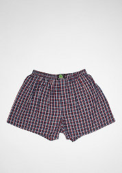 Boxershort Plaid dark blue/white/red