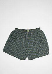 Boxershort Plaid green/dark blue