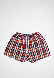 Boxershort Plaid dark blue/red/white