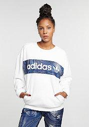 Sweatshirt BG Crew white