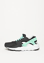 Laufschuh Air Huarache Run black/green glow/pure platinum