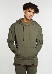 Hooded-Sweatshirt Light Hoody olive