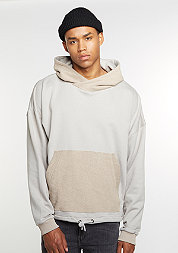 Hooded-Sweatshirt Inside Out taupe