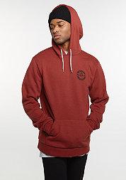 Hooded-Sweatshirt Soto Fleece burgundy