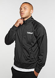 College Track Jacket black/white
