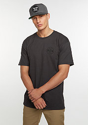 T-Shirt Cowen STND washed black/black