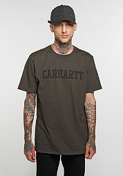 T-Shirt College cypress/black