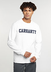 Longsleeve College white/navy