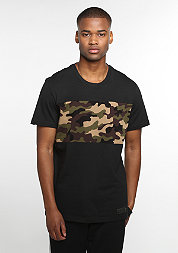 T-Shirt Camo Block black