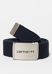 Clip Belt Chrome navy