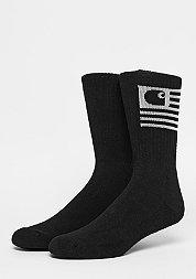 Stat Socks black/white