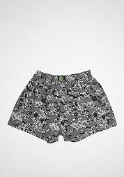 Boxershort Camo grey/black