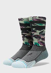 Fashionsocke Hidden Palms green