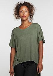 T-Shirt Viscose Oversized HiLo olive