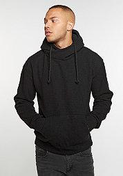 Hooded-Sweatshirt Sherpa High Neck black