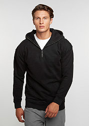 Hooded-Sweatshirt Troyer black