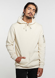 Hooded-Sweatshirt Sweat Bomber sand