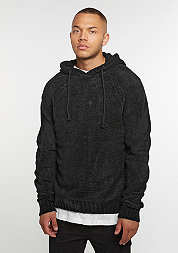 Hooded-Sweatshirt Chenille black
