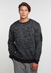 Sweatshirt Camo Bomber dark camo