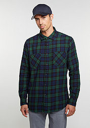 Checked Flanell 3 forest/navy/black