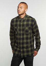 Checked Flanell 3 black/olive
