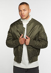 Basic Bomber dark olive