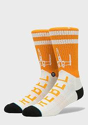 Fashionsocke Star Wars Varsity Rebel orange