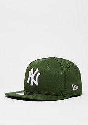Snapback-Cap League Essential MLB New York Yankees rifle green