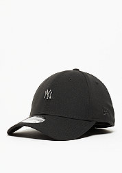 Metal Mini Logo MLB New York Yankees black