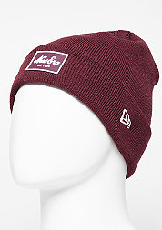 Rubber Patch Cuff maroon