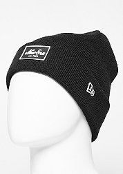Beanie Rubber Patch Cuff black